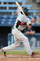 Hickory Crawdads Jurickson Profar #10 swings at a pitch during a  game against the Asheville Tourists at McCormick Field in Asheville,  North Carolina;  June 13, 2011.  The Crawdads won the game 10-7.  Photo By Tony Farlow/Four Seam Images