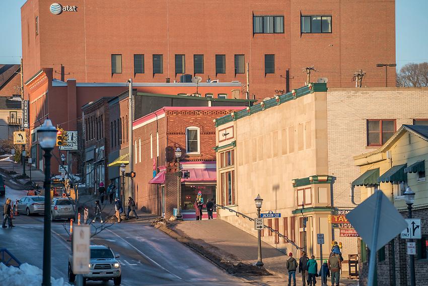 Downtown Marquette, Michigan