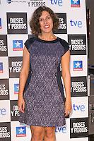 """Lucia Alvarez attends the """"DIOSES Y PERROS """" Movie presentation at Kinepolis Cinema in Madrid, Spain. October 6, 2014. (ALTERPHOTOS/Carlos Dafonte) /nortephoto.com"""