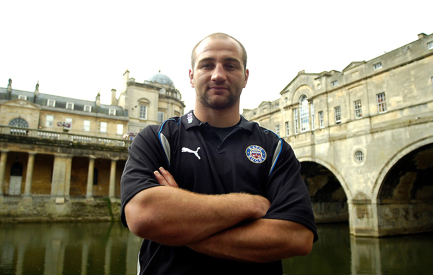 Photo: Ed Godden..Bath Rugby Media Day. 18/08/2006..Bath captain Steve Borthwick.