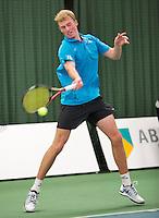 19-01-13, Tennis, Rotterdam, Wildcard for qualification ABNAMROWTT, Glenn Smits