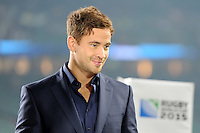 Danny Cipriani commentates for ITV during Match 26 of the Rugby World Cup 2015 between England and Australia - 03/10/2015 - Twickenham Stadium, London<br /> Mandatory Credit: Rob Munro/Stewart Communications