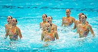 ITA - Italy<br /> BOZZO Elisa CALLEGARI Beatrice<br /> CATTANEO Camilla DEIDDA Francesca<br /> FLAMINI Manila GALLI Gemma<br /> PERRUPATO Mariangela SGARZI Sara<br /> Team Free Preliminary<br /> Day5 28/07/2015<br /> XVI FINA World Championships Aquatics<br /> Synchro<br /> Kazan Tatarstan RUS July 24 - Aug. 9 2015 <br /> Photo Pasquale Mesiano/Deepbluemedia/Insidefoto