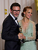 "MICHEL HAZANAVICIUS AND BERENICE BEJO.from ""The Artist""at the 84th Academy Awards, Kodak Theatre, Hollywood, Los Angeles_26/02/2012.Mandatory Photo Credit: ©Dias/Newspix International..**ALL FEES PAYABLE TO: ""NEWSPIX INTERNATIONAL""**..PHOTO CREDIT MANDATORY!!: NEWSPIX INTERNATIONAL(Failure to credit will incur a surcharge of 100% of reproduction fees)..IMMEDIATE CONFIRMATION OF USAGE REQUIRED:.Newspix International, 31 Chinnery Hill, Bishop's Stortford, ENGLAND CM23 3PS.Tel:+441279 324672  ; Fax: +441279656877.Mobile:  0777568 1153.e-mail: info@newspixinternational.co.uk"