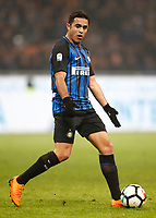 Calcio, Serie A: Inter - Napoli, Milano, stadio Giuseppe Meazza (San Siro), 11 marzo 2018.<br /> Inter's Eder in a action during the Italian Serie A football match between Inter Milan and Napoli at Giuseppe Meazza (San Siro) stadium, March 11, 2018.<br /> UPDATE IMAGES PRESS/Isabella Bonotto