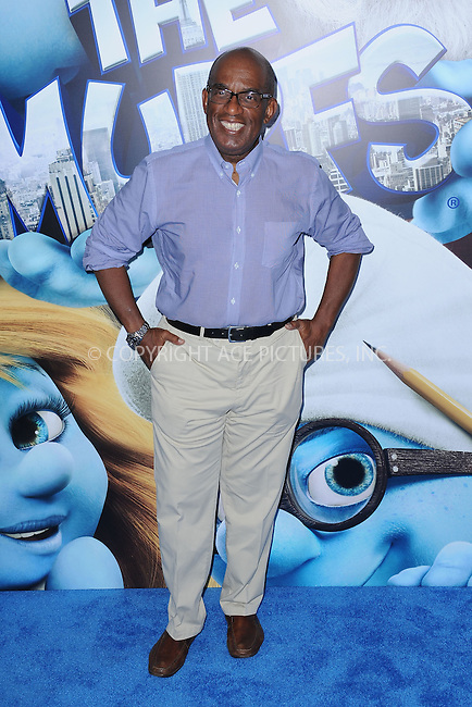 WWW.ACEPIXS.COM . . . . . .July 24, 2011...New York City....Al Roker attends the premiere of 'The Smurfs' at the Ziegfeld Theater on July 24, 2011 in New York City....Please byline: KRISTIN CALLAHAN - ACEPIXS.COM.. . . . . . ..Ace Pictures, Inc: ..tel: (212) 243 8787 or (646) 769 0430..e-mail: info@acepixs.com..web: http://www.acepixs.com .
