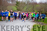 The runners take off at the 5k Parkrun in Muckross Park on Saturday