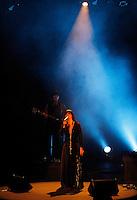 Teresa Salgueiro in concert with portuguese guitarist Andre Filipe Santos in Teatro Fernan Gomez in Madrid.November 3,2012. (ALTERPHOTOS/Acero) /NortePhoto