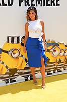 Liz Hernandez at the world premiere for &quot;Despicable Me 3&quot; at the Shrine Auditorium, Los Angeles, USA 24 June  2017<br /> Picture: Paul Smith/Featureflash/SilverHub 0208 004 5359 sales@silverhubmedia.com