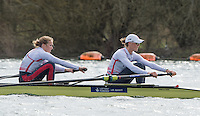 Caversham. Berkshire. UK<br /> GBR W2- Bow Helen GLOVER and Heather STANNING. 2016 GBRowing European Team Announcement,  <br /> <br /> Wednesday  06/04/2016 <br /> <br /> [Mandatory Credit; Peter SPURRIER/Intersport-images]