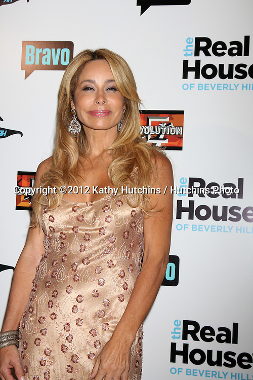"LOS ANGELES - OCT 21:  Faye Resnick arrives at  ""The Real Housewives of Beverly Hills"" Season three premiere red carpet event at Roosevelt Hotel on October 21, 2012 in Los Angeles, CA"