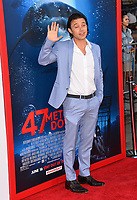 Yani Gellman at the Los Angeles premiere for &quot;47 Meters Down&quot; at the Regency Village Theatre, Westwood. <br /> Los Angeles, USA 12 June  2017<br /> Picture: Paul Smith/Featureflash/SilverHub 0208 004 5359 sales@silverhubmedia.com