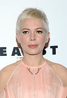 NEW YORK, NY - NOVEMBER 30: Michelle Williams at the Lincoln Center Corporate Fund Gala at Alice Tully Hall in New York City on November 30, 2017. Credit: John Palmer/MediaPunch NortePhoto.com. NORTEPHOTOMEXICO