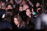 Tamara Falco, Isabel Preysler and Fernando Verdasco attends the Enrique Iglesias Concert at Barclayscard Center in Madrid, Spain. November 15, 2014. (ALTERPHOTOS/Carlos Dafonte)