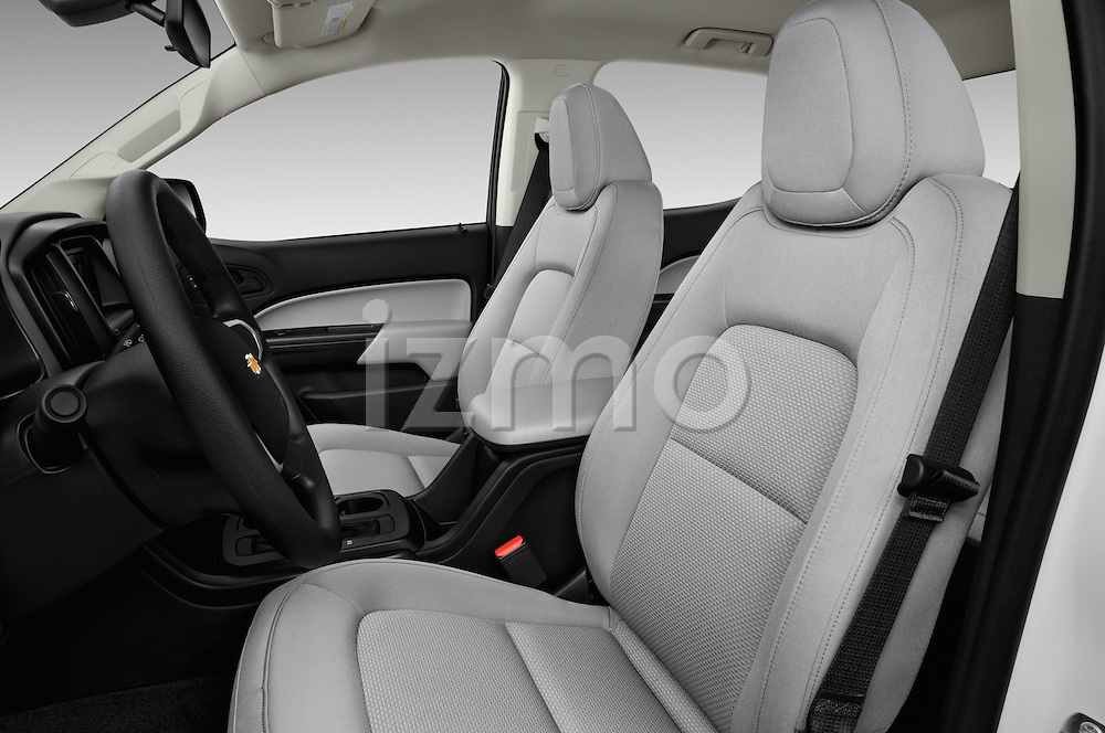 Front seat view of 2016 Chevrolet Colorado Work-Truck-Crew 4 Door Pick-up Front Seat  car photos