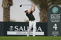Mikko Korhoenen (FIN) on the 4th tee during the 1st round of  the Saudi International powered by Softbank Investment Advisers, Royal Greens G&CC, King Abdullah Economic City,  Saudi Arabia. 30/01/2020<br /> Picture: Golffile | Fran Caffrey<br /> <br /> <br /> All photo usage must carry mandatory copyright credit (© Golffile | Fran Caffrey)