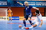 Japan vs Tajikistan during the AFC Futsal Championship Chinese Taipei 2018 Group Stage match at University of Taipei Gymnasium on 01 February 2018, in Taipei, Taiwan. Photo by Yu Chun Christopher Wong / Power Sport Images