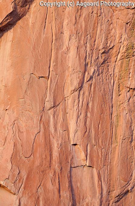 Cliff detail, Garden of the Gods, Colorado Springs
