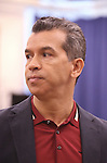 """Sergio Trujillo during the open press rehearsal for """"A Bronx Tale - The New Musical""""  at the New 42nd Street Studios on October 21, 2016 in New York City."""