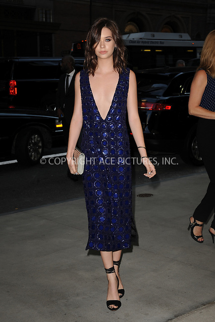 www.acepixs.com<br /> September 8, 2016  New York City<br /> <br /> Amanda Steele attending the The Daily Front Row's 4th Annual Fashion Media Awards at Park Hyatt New York on September 8, 2016 in New York City. <br /> <br /> <br /> Credit: Kristin Callahan/ACE Pictures<br /> <br /> <br /> Tel: 646 769 0430<br /> Email: info@acepixs.com
