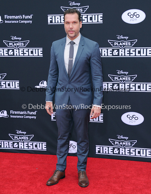 Dane Cook attends The Disney PLANES: FIRE & RESCUE Premiere held at The El Capitan Theatre in Hollywood, California on July 15,2014                                                                               © 2014 Hollywood Press Agency