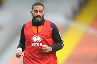 Blackpool's Liam Feeney during the pre-match warm-up <br /> <br /> Photographer Kevin Barnes/CameraSport<br /> <br /> The EFL Sky Bet League One - Blackpool v Plymouth Argyle - Saturday 30th March 2019 - Bloomfield Road - Blackpool<br /> <br /> World Copyright © 2019 CameraSport. All rights reserved. 43 Linden Ave. Countesthorpe. Leicester. England. LE8 5PG - Tel: +44 (0) 116 277 4147 - admin@camerasport.com - www.camerasport.com