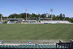 12 April 2012: A view of the beginning of the construction project to add a second deck to the East Stand of the stadium. The Carolina RailHawks held a Media Roundtable at WakeMed Stadium in Cary, NC.