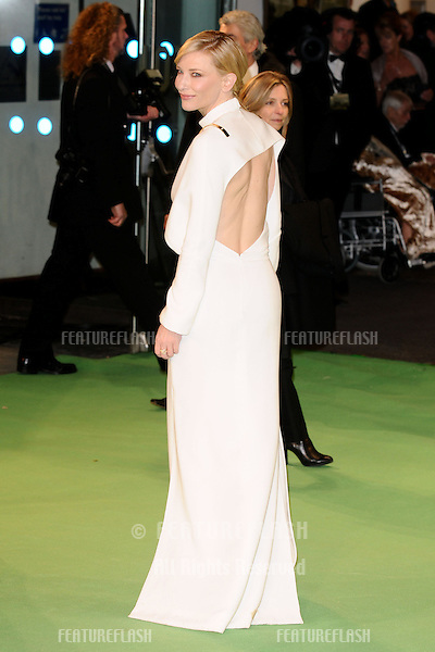 "Cate Blanchett arriving for the premiere of ""The Hobbit: An Unexpected Journey"" at the Odeon Leicester Square, London. 12/12/2012 Picture by: Steve Vas / Featureflash"
