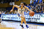 03 December 2015: Duke's Angela Salvadores (ESP). The Duke University Blue Devils hosted the University of Minnesota Golden Gophers at Cameron Indoor Stadium in Durham, North Carolina in a 2015-16 NCAA Division I Women's Basketball game. Duke won the game 84-64.