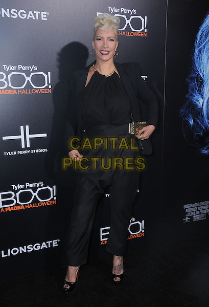 17 October 2016 - Hollywood, California. Rebecca Crews. Premiere Of Lionsgate's &quot;Boo! A Madea Halloween&quot; held at ArcLight Cinerama Dome. <br /> CAP/ADM/BT<br /> &copy;BT/ADM/Capital Pictures