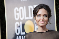 Angelina Jolie, nominated for BEST FOREIGN LANGUAGE FILM for &ldquo;First They Killed My Father&rdquo; arrives at the 75th Annual Golden Globe Awards at the Beverly Hilton in Beverly Hills, CA on Sunday, January 7, 2018.<br /> *Editorial Use Only*<br /> CAP/PLF/HFPA<br /> &copy;HFPA/PLF/Capital Pictures