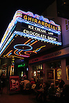 Ghirardelli Ice Cream Shop in Gaslamp District in San Diego
