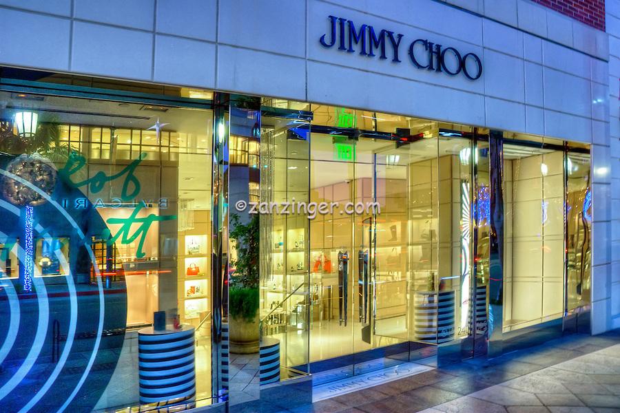 Jimmy Choo, Beverly Hills CA, Rodeo Drive, Luxury Shopping,  Window Display