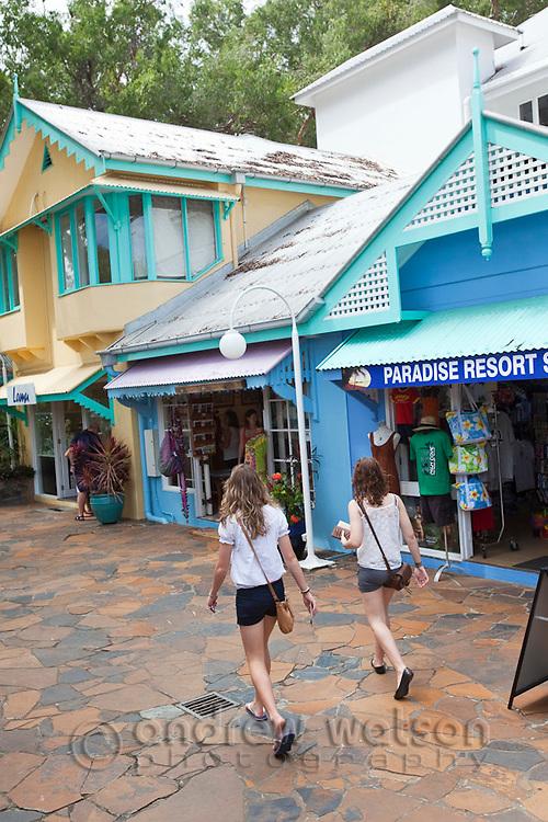 Palm Cove Shopping Village.  Palm Cove, Cairns, Queensland, Australia