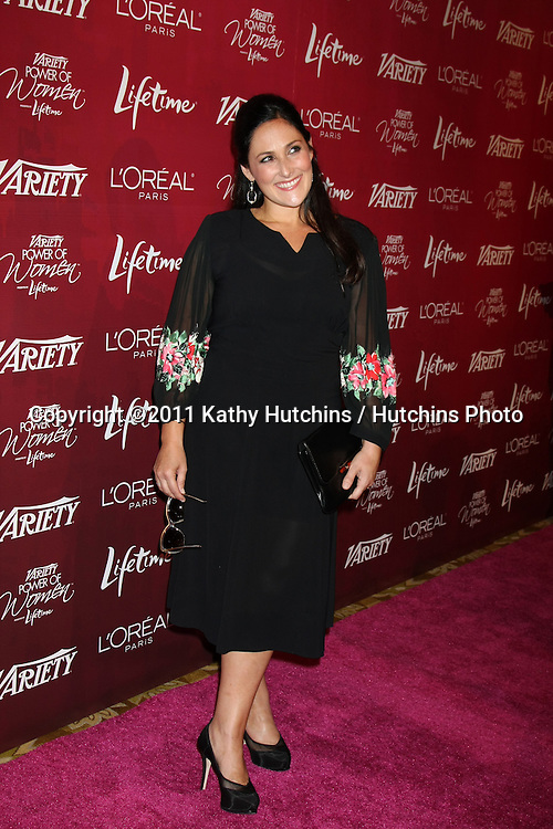 LOS ANGELES - SEPT 23:  Ricki Lake arriving at the Variety's Power of Women Luncheon at Beverly Wilshire Hotel on September 23, 2011 in Beverly Hills, CA