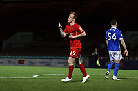 O's DAnny JOhnson scores O's 2nd goal and celebrates during Leyton Orient vs Brighton & Hove Albion Under-21, EFL Trophy Football at The Breyer Group Stadium on 8th September 2020