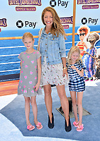 "Rebecca Gayheart, Billie Dane & Georgia Dane at the world premiere for ""Hotel Transylvania 3: Summer Vacation"" at the Regency Village Theatre, Los Angeles, USA 30 June 2018<br /> Picture: Paul Smith/Featureflash/SilverHub 0208 004 5359 sales@silverhubmedia.com"