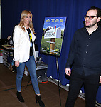 Toni Collette and Director Sam Gold attending 'The Realistic Joneses'  Meet & Greet  at The New 42nd Street Studios on February 20, 2014 in New York City.
