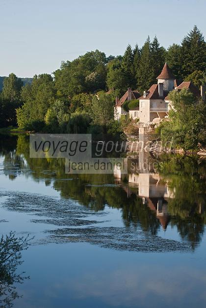 Europe/Europe/France/Midi-Pyrénées/46/Lot/Meyronne: la vallée de la Dordogne