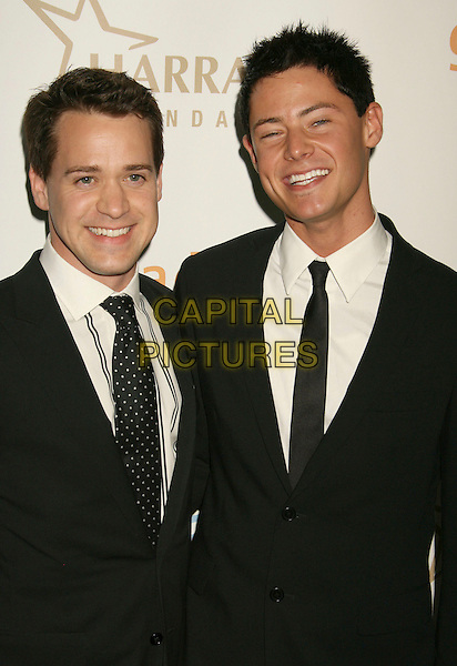 T.R. KNIGHT & MARK CORNELSEN.19th Annual Glaad Media Awards held at the Kodak Theatre, Hollywood, California, USA, 26 April 2008..half length black tie  TR.CAP/ADM/RE.©Russ Elliot/Admedia/Capital PIctures