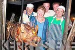 Enjoying the bar-b-q at McCarthy's bar Finuge on Friday night in aid of Fr.Jerry Browne's Hiv Aids Project in South Africa, were Peggie O'Connell, John Fitzmaurice, Tom Quilter and Fr. Jerry Browne...   Copyright Kerry's Eye 2008