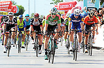 Sam Bennett (IRL) Bora-Hansgrohe wins Stage 2 of the 54th Presidential Tour of Turkey 2018, running 150km from Alanya to Antalya, Turkey. 10th October 2018.<br /> Picture: Brian Hodes/VeloImages | Cyclefile<br /> <br /> <br /> All photos usage must carry mandatory copyright credit (&copy; Cyclefile | Brian Hodes/VeloImages)