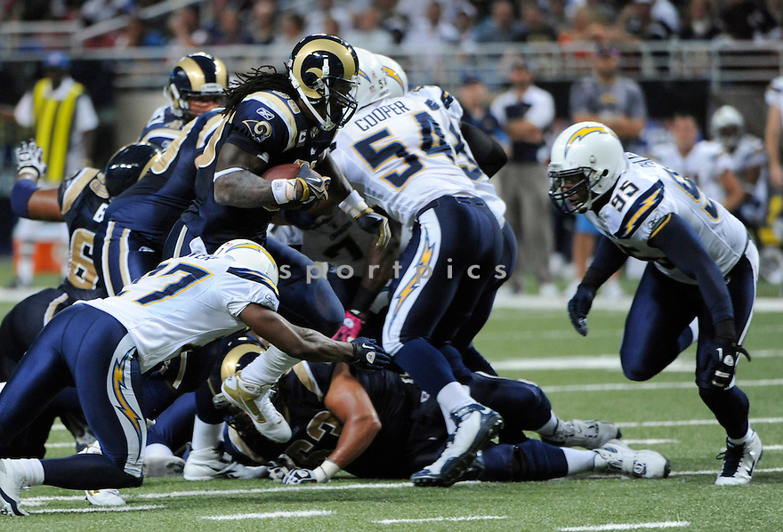 STEVEN JACKSON, of the St. Louis Rams, in action during the Rams game against the San Diego Chargers on October 17, 2010 at the Edward Jones Dome in St. Louis, Missouri...St. Louis beats San Diego 20-17