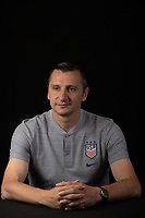 Kansas City, KS - Friday, October 25, 2019 : Newly named USWNT head coach Vlatko Andonovski poses for a photo at the National Development Center in Kansas City, Kansas.