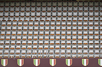 The empty stands are seen during the Serie A football match between Torino FC and SS Lazio at stadio Olimpico in Turin ( Italy ), June 30th, 2020. Play resumes behind closed doors following the outbreak of the coronavirus disease. <br /> Photo Image Sport / Insidefoto