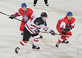 Dawson Creek, BC - Dec 13 2019: Game 10 - Canada East vs. Czech Republic at the 2019 World Junior A Championship at the ENCANA Event Centre in Dawson Creek, British Columbia, Canada. (Photo by Matthew Murnaghan/Hockey Canada)