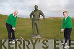 CAPTAIN'S DRIVE: Jerry Moloney (captain) and Ber Collins (lady captain) at the captain's drive at Tralee Golf Club on Sunday.