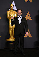 Kenneth Lonergan in the photo room at the 89th Annual Academy Awards at Dolby Theatre, Los Angeles, USA 26 February  2017<br /> Picture: Paul Smith/Featureflash/SilverHub 0208 004 5359 sales@silverhubmedia.com