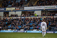 Goalkeeper Alex Lynch of Wycombe Wanderers during the Sky Bet League 2 match between Wycombe Wanderers and Leyton Orient at Adams Park, High Wycombe, England on 23 January 2016. Photo by Massimo Martino / PRiME Media Images.
