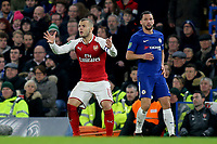 Arsenal's Jack Wilshere reacts to a refereeing decision during Chelsea vs Arsenal, Caraboa Cup Football at Stamford Bridge on 10th January 2018